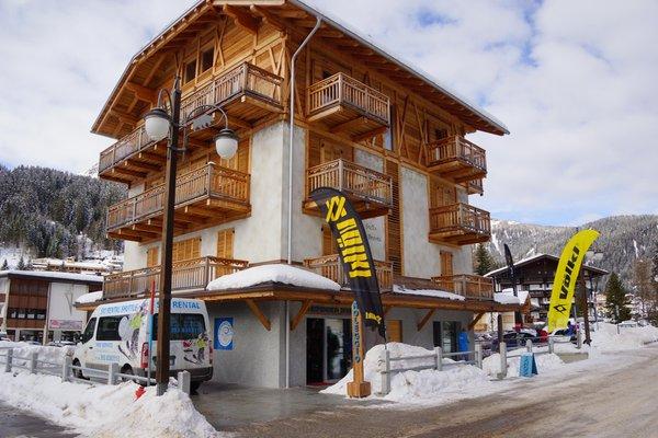 Foto invernale di presentazione Olimpionico Sport 2 - Noleggio sci e snowboard