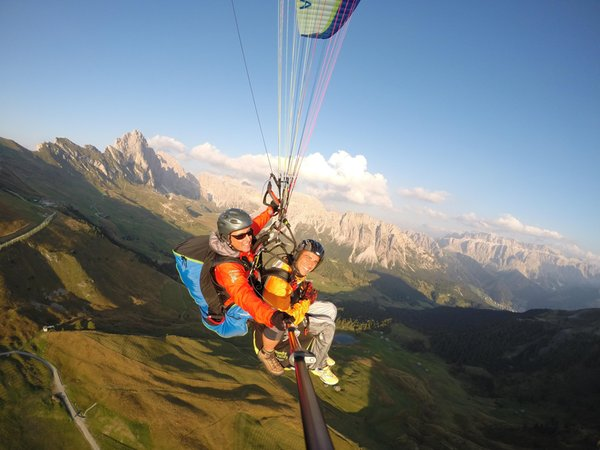 Presentation Photo Tandem Paragliding Gardenafly