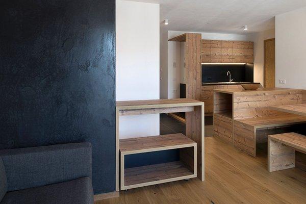La zona giorno Villa Kriendl - Appartamenti 3 soli
