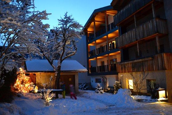 Foto invernale di presentazione Appartamenti Villa Kriendl