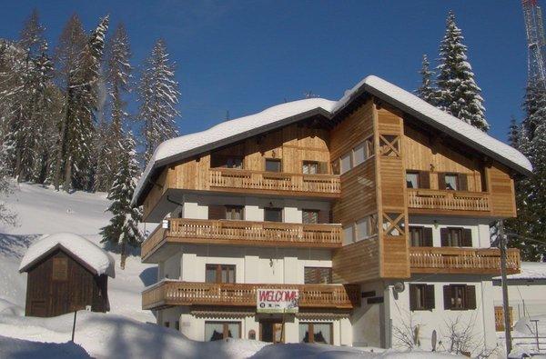 Winter Präsentationsbild Remauro - Berghütte mit Zimmern