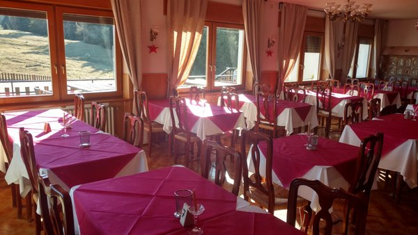 The restaurant Folgaria Forte Cherle