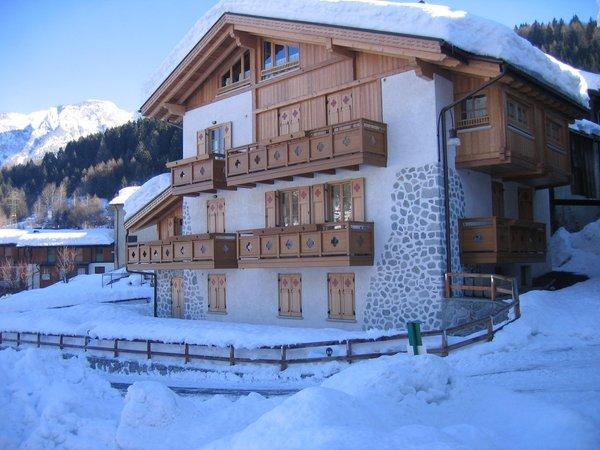 Foto invernale di presentazione Maso Margherita - Appartamenti