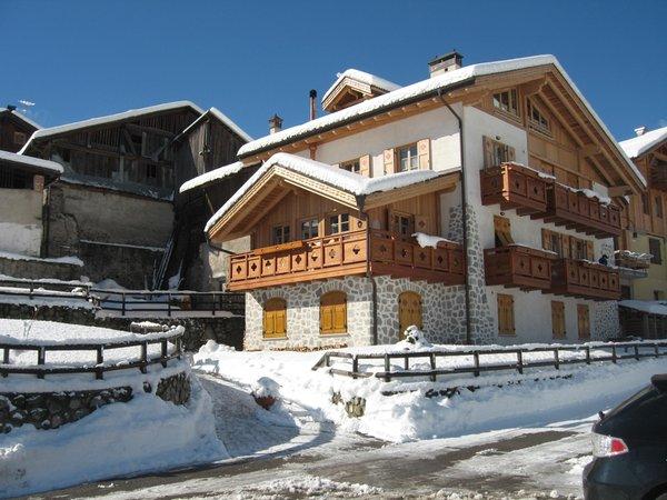Foto esterno in inverno Maso Margherita