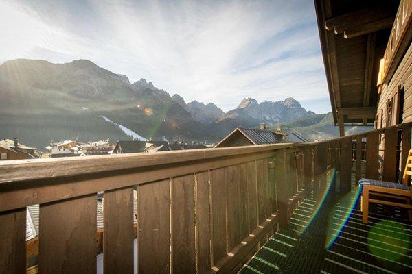 Foto vom Balkon Wellness Hotel Bladen