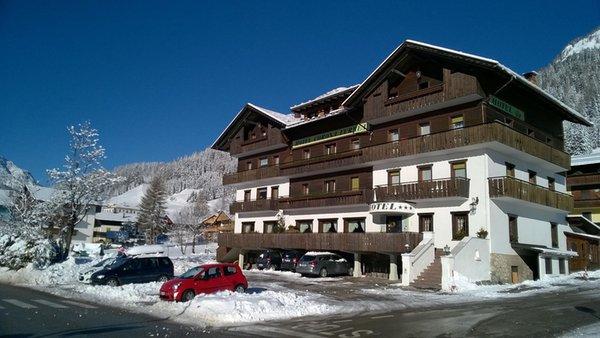 Foto invernale di presentazione Hotel Corona Ferrea