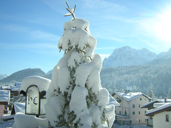 Foto esterno in inverno Cristina