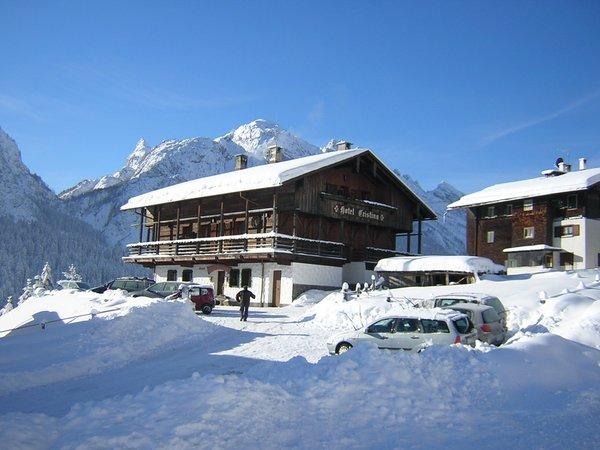 Foto invernale di presentazione Cristina - Hotel 3 stelle
