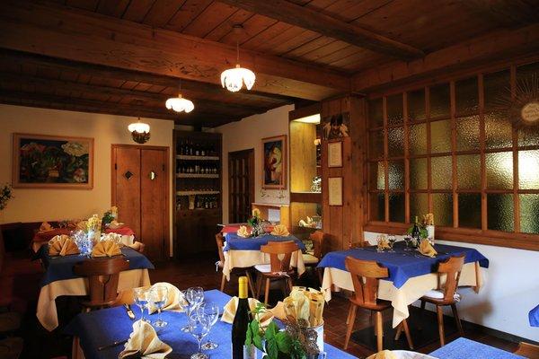 Il ristorante Sappada Cristina