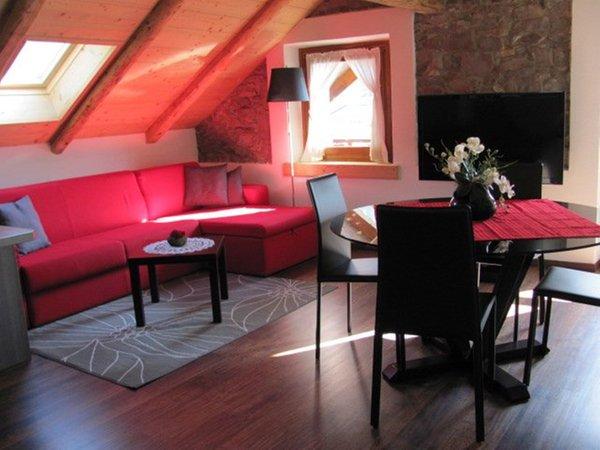 La zona giorno Camere + Appartamenti Boccingher Cristina