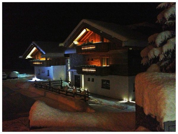 Photo exteriors in winter Le Coccole