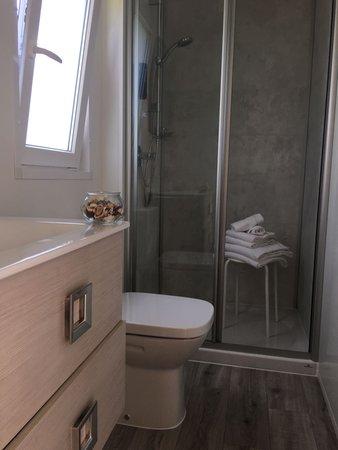 Foto del bagno B&B + Appartamenti Alpin Haus