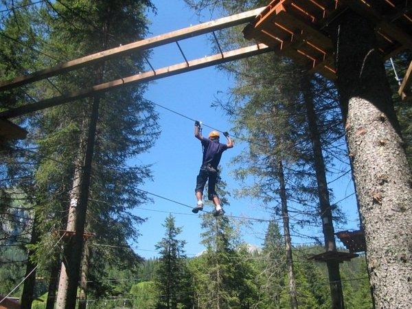 Foto di presentazione Parco avventura Alpinpark