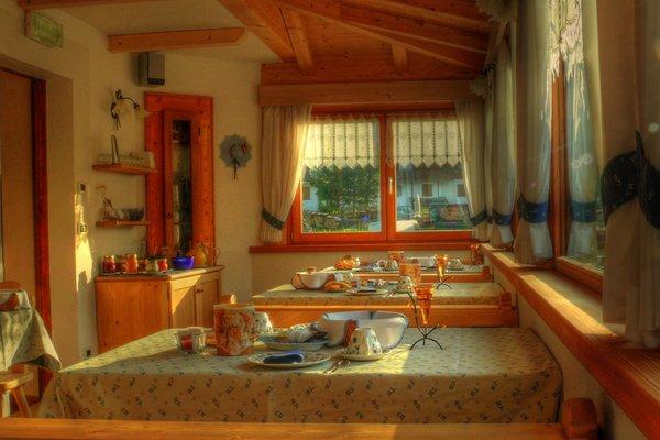 Il ristorante Sappada Quinz