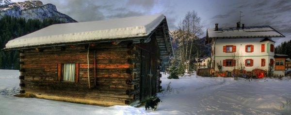 Foto esterno in inverno Quinz