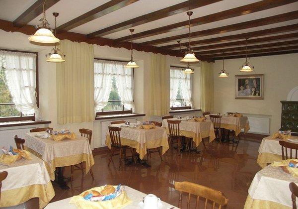 Il ristorante Sappada Villa Erika