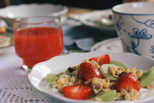 La colazione Voltan Haus - Camere in agriturismo