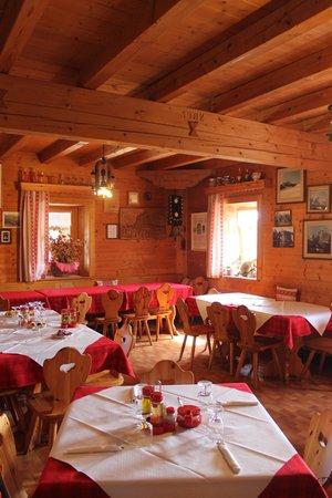 Il ristorante Sappada Pier Fortunato Calvi