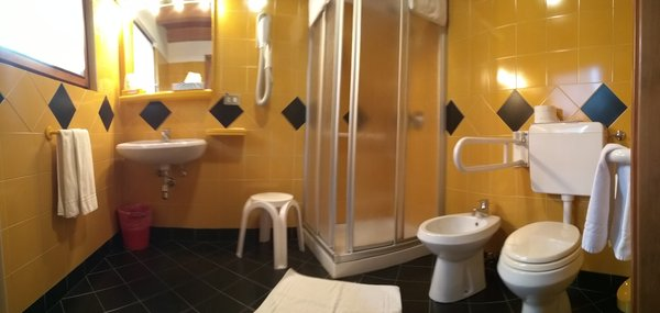 Foto del bagno Hotel Valgioconda
