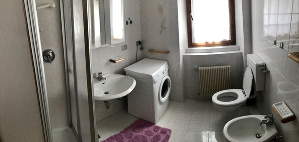 Foto del bagno Appartamenti Piller Roner Annarita