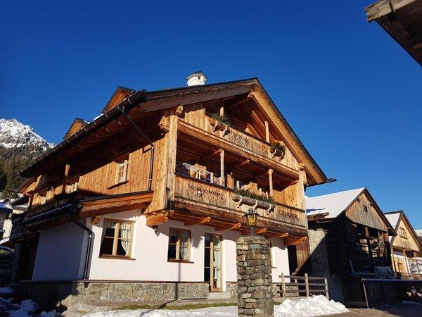 Foto invernale di presentazione Appartamenti Benedetti