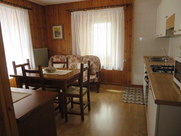 La zona giorno Appartamenti Casa Zilli Boccingher - Granvilla