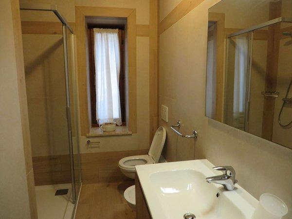 Foto del bagno Appartamenti Casa Zilli Boccingher - Granvilla