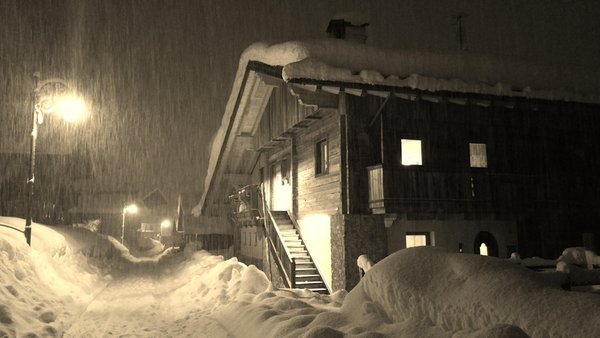 Foto invernale di presentazione Appartamenti Kratter Alpenplick