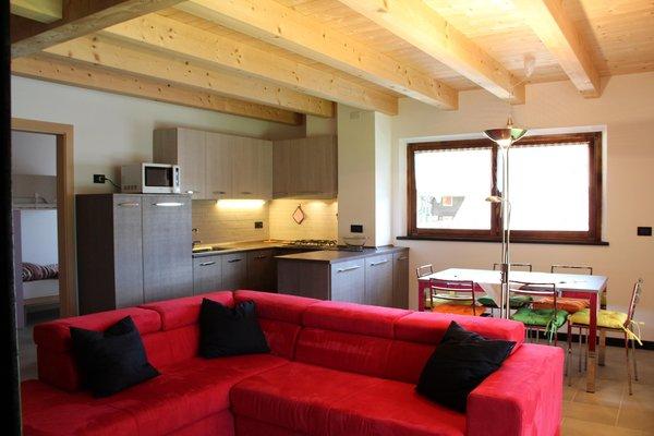 Der Wohnraum Ferienwohnungen Kratter Alpenplick