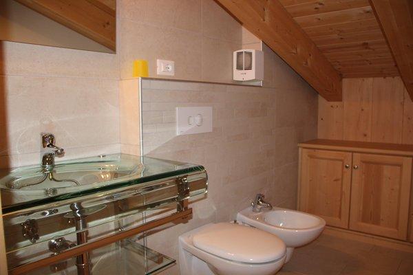 Foto del bagno Appartamenti Kratter Alpenplick