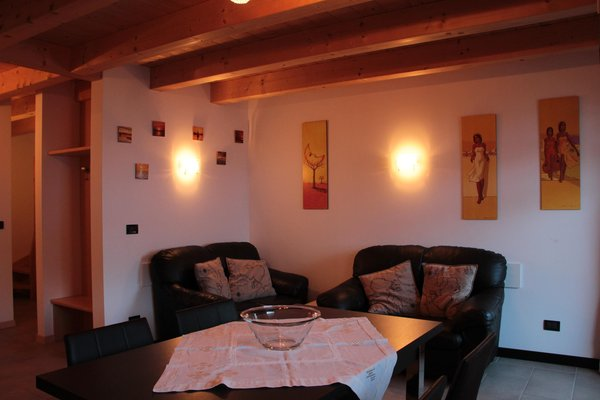 La zona giorno Appartamenti Kratter Alpenplick