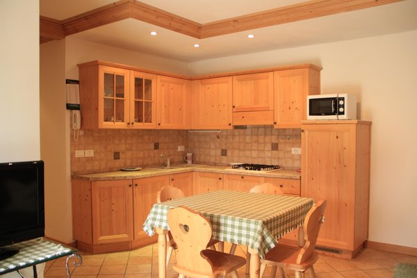 Foto der Küche Kratter Alpenplick