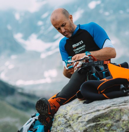 Foto di presentazione Guida alpina Ivan Pegorari