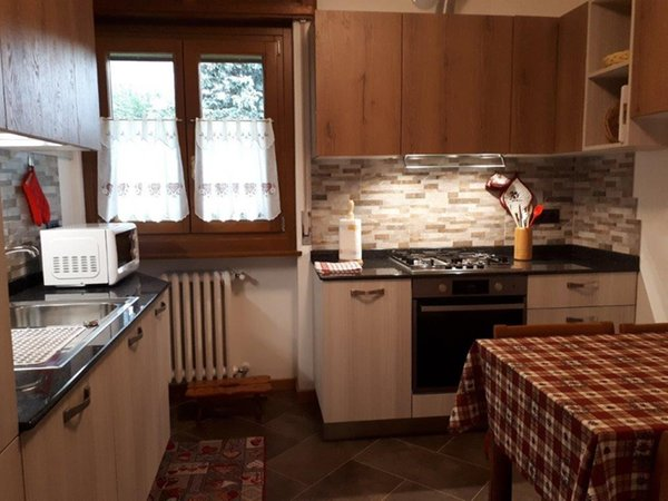 Foto der Küche Ski Hike Apartment Lungoboite