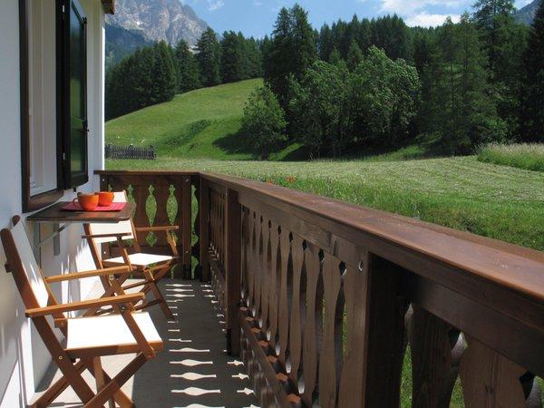 Photo of the balcony Ski Hike Apartments Pecol