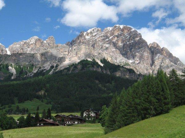Panoramic view Pecol (Cortina d'Ampezzo)
