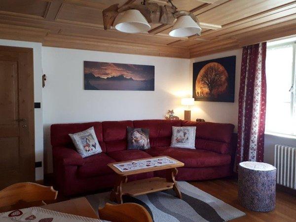 The living area Apartments Ski Hike Apartments Pecol