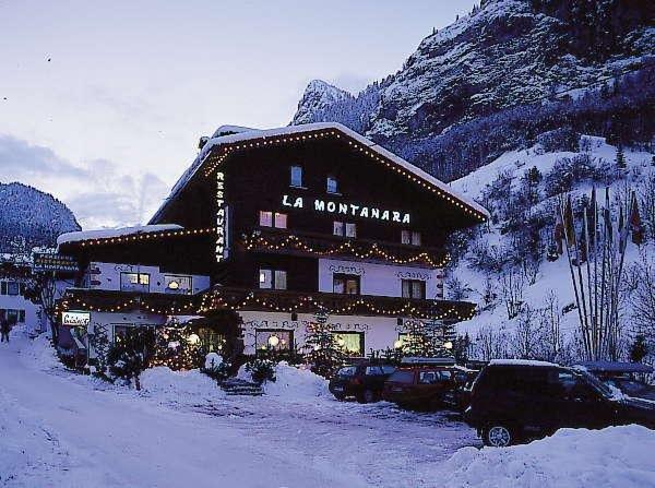 Foto invernale di presentazione La Montanara - Ristorante