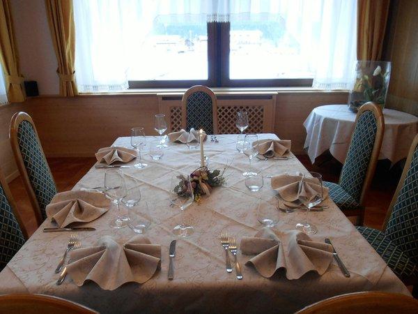 Il ristorante Santo Stefano di Cadore La Žìria