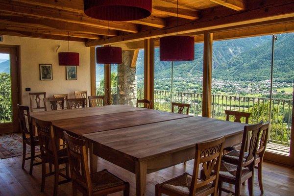 Das Frühstück Bauernhofspension Les Granges