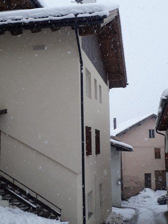 Photo exteriors in winter Casa Rita