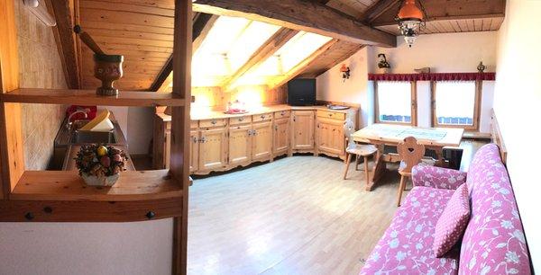 Der Wohnraum Ferienwohnungen De Martin Topranin Nicola