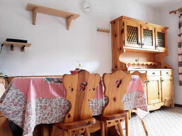 Der Wohnraum Ferienwohnungen De Martin Topranin Pio
