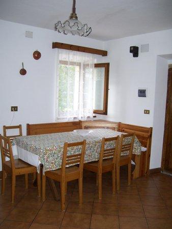 Der Wohnraum Ferienwohnungen Diegoli Rosanna