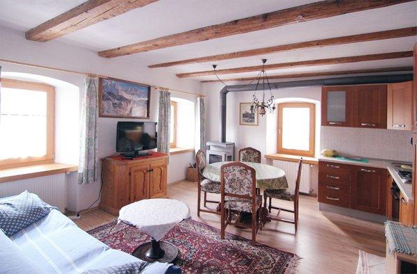 Der Wohnraum Ferienwohnungen Ribul Moro Carmen