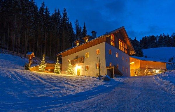 Winter Präsentationsbild Silentium Dolomites Chalet