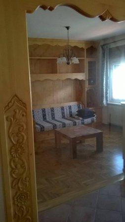La zona giorno De Martin Topranin Matteo - Appartamenti 2 stelle