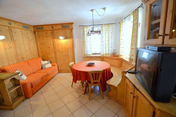 Der Wohnraum Ferienwohnung Zandonella Callegher Rosangela