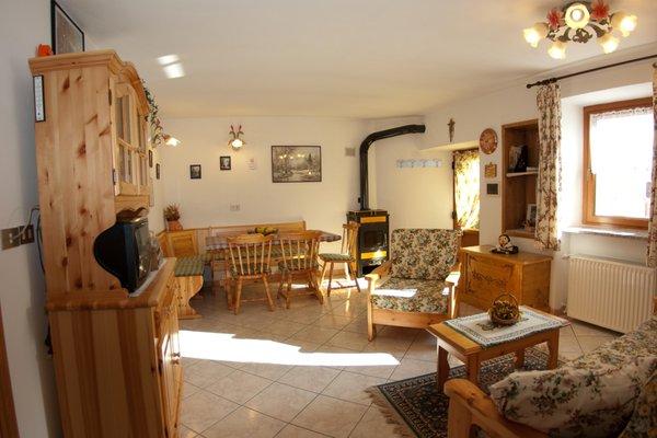 Der Wohnraum Ferienwohnung Zandonella Sarinuto Pietro