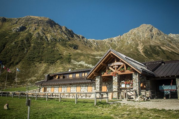 Summer presentation photo Mountain hut with rooms Maddalene